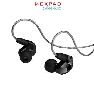 Tai nghe Moxpad X9 - Hàng chính hãng Dây dẫn tháo rời, MMCX, Âm thanh sôi động, mạnh mẽ thumbnail