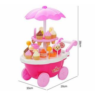 [FLOW SHOP để nhận ưu đãi lớn] Xe đẩy kem cho bé Sweet cant -4094