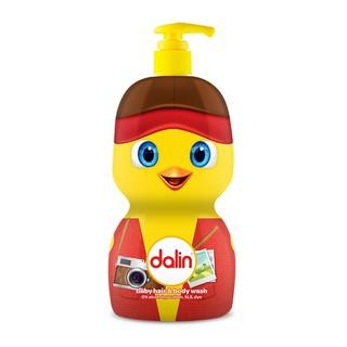 combo 2 chai Sữa tắm toàn thân gà con cho bé Dalin 650ml ( tặng 2 chai dầu duong ẩm 50ml )