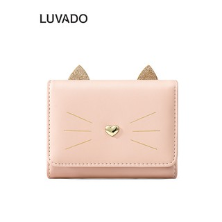 Ví nữ nhiều ngăn mini cầm tay TAOMICMIC đựng tiền nhỏ gọn bỏ túi LUVADO VD451 thumbnail