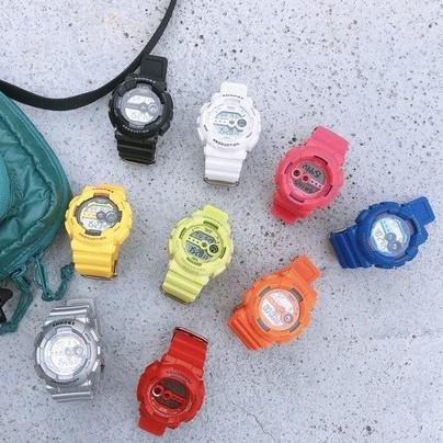 Đồng hồ thể thao nữ SHHORS dây cao su ms02 size nhỏ xinh