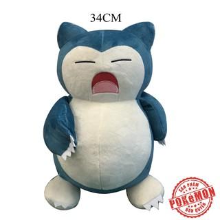 Thú bông Pokémon - Kabigon (Snorlax) 34cm