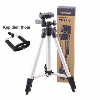 [Mã ELFLASH5 giảm 20K đơn 50K] Gậy Tripod chụp ảnh 3 chân - Giá đỡ điện tripod 3 chân - giá đỡ máy quay phim