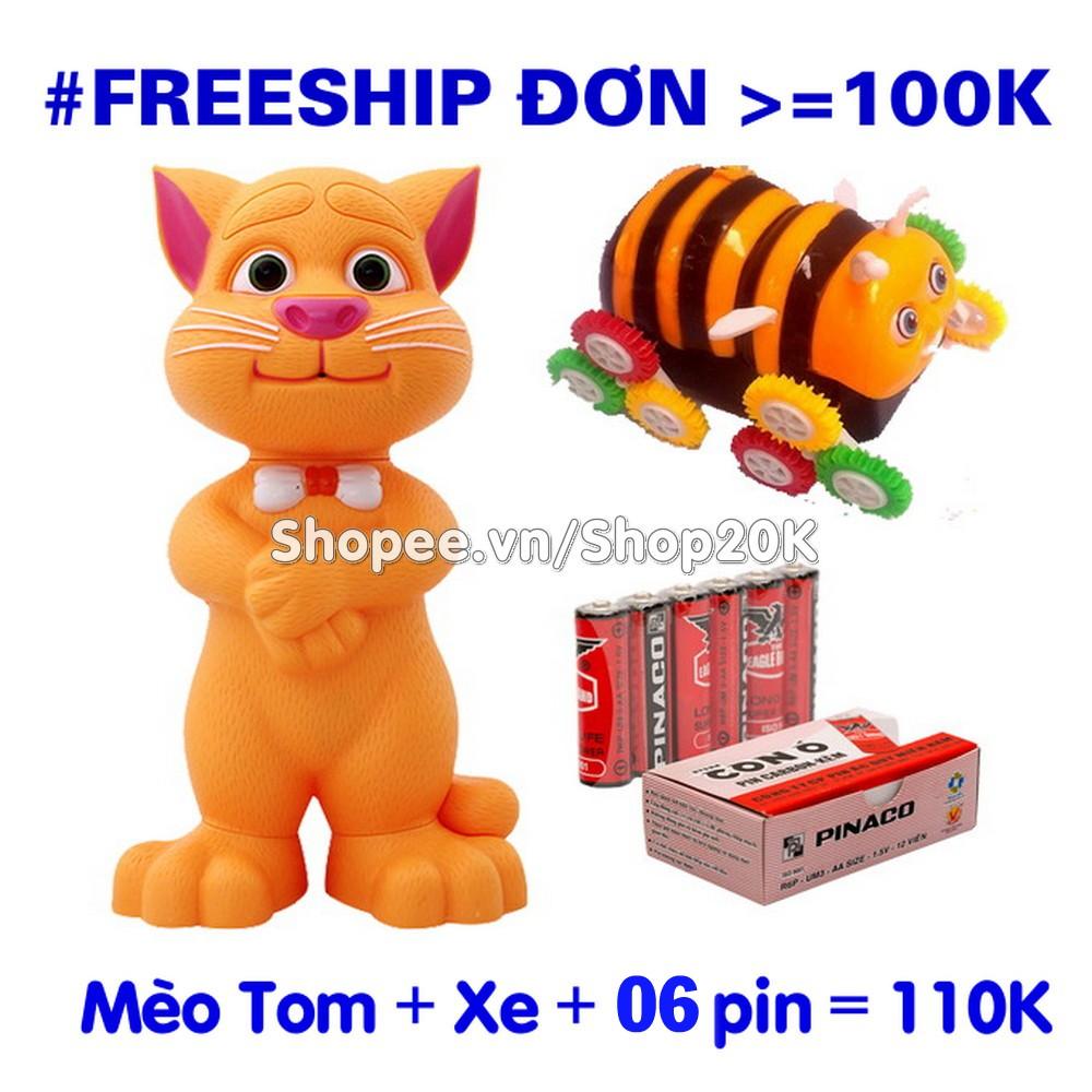 Bộ Mèo tom + Xe + 6 pin (đồ chơi cho bé) - 2976313 , 299447876 , 322_299447876 , 150000 , Bo-Meo-tom-Xe-6-pin-do-choi-cho-be-322_299447876 , shopee.vn , Bộ Mèo tom + Xe + 6 pin (đồ chơi cho bé)