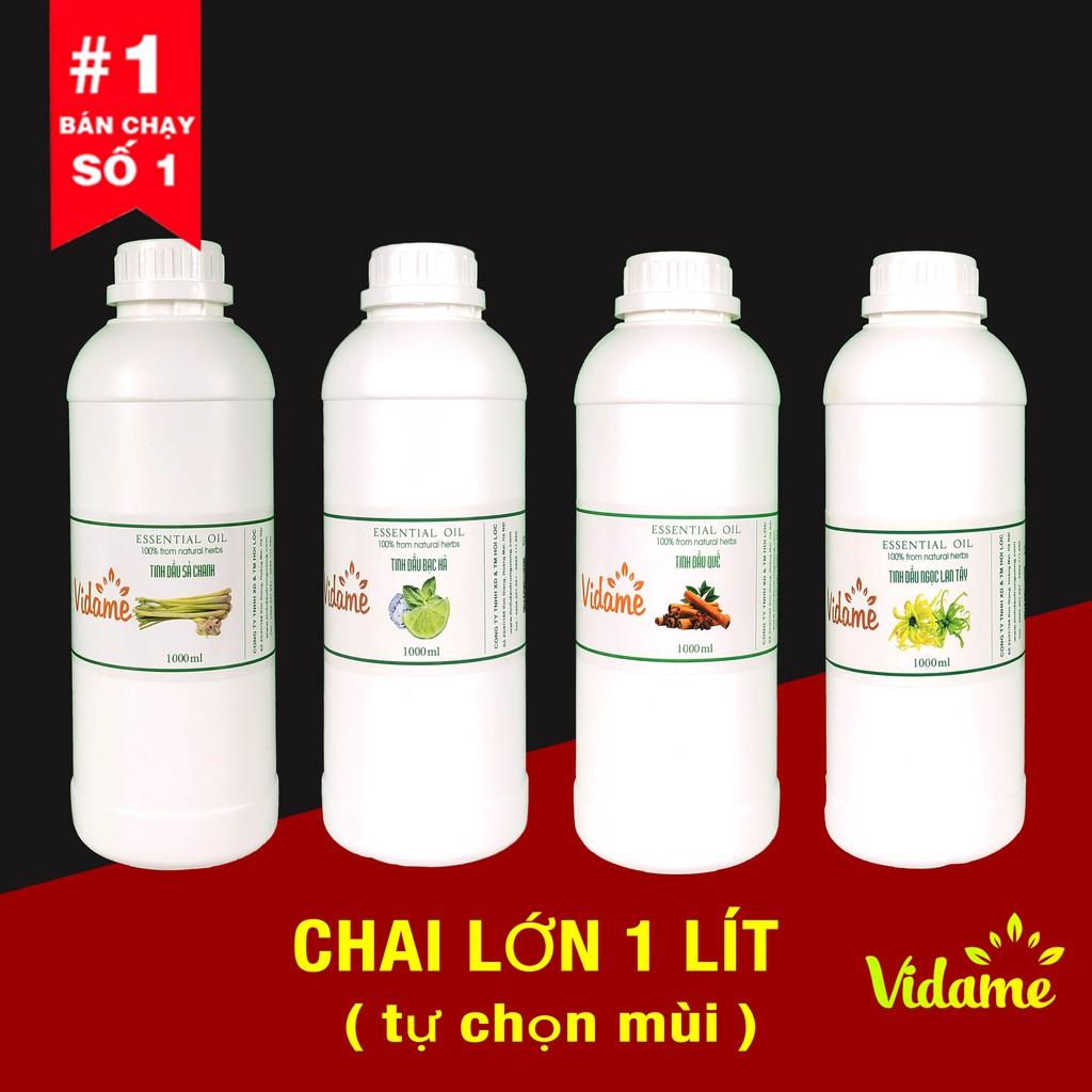 Tinh dầu thiên nhiên Chai to 1 LÍT - tự chọn