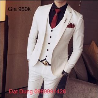 Comple veston kiểu dáng Hàn Quốc