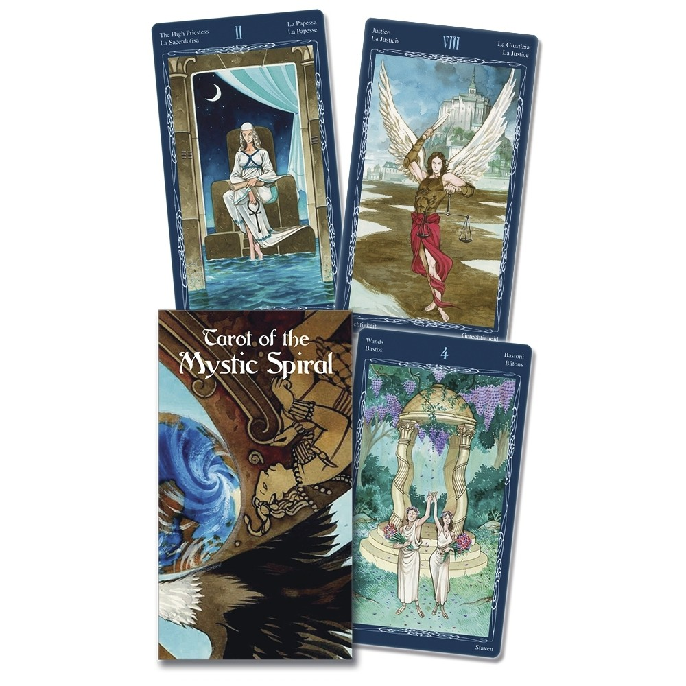 Bộ Bài Tarot of the Mystic Spiral (Mystic House Tarot Shop)
