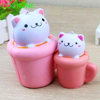 Simulation Cup Cute Cats Foam Gadgets