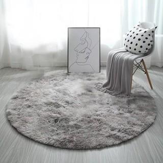 [QUÀ TẶNG LÀ 1 Đinh 4 Chân NHA BẠN] Thảm Lông Trải Sàn BALI trang trí dùng cho nhà phòng khách ngủ bếp tròn vintage RRR1