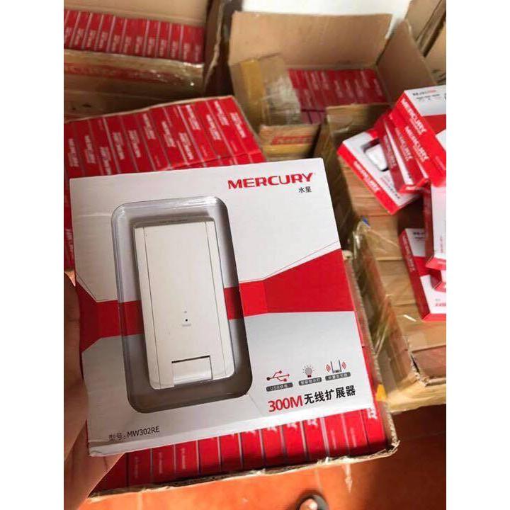[Nhập ELCLMAY hoàn 30K xu đơn từ 200K]Kích sóng Mercury 2 râu wireless 300Mbps Giá chỉ 125.000₫