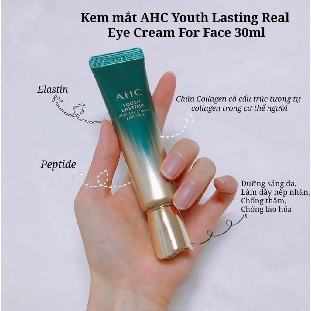 [CHÍNH HÃNG] Kem Mắt AHC Time Rewind Real Eye Cream For Face 2021