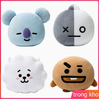 Plush Simulation Doll TATA BTS COOKY CHIMMY SHOOKY Toys Cute Bolster Pillow Dolls Gifts for Children