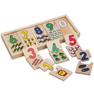 Giáo Cụ Montessori Hộp Ghép Số Và Học Đếm Bằng Gỗ Loại Lớn Cho Bé