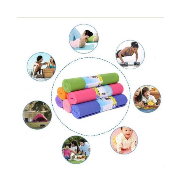 Thảm tập Yoga loại 1 dày ( Có túi đựng)