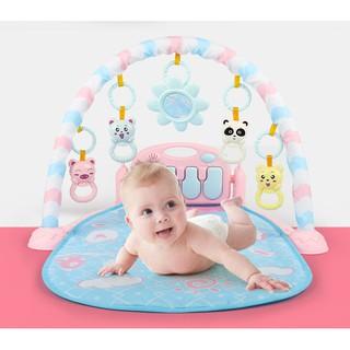 Yêu Thích🌟Đồ chơi trẻ sơ sinh cho bé - Thảm nhạc vui chơi cho bé từ 0 - 24 tháng tuổi ( có video thật)