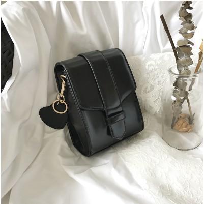 Order túi xách hộp đơn giản đen - vàng
