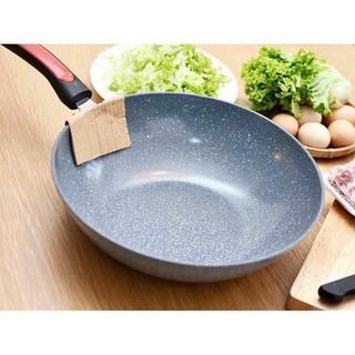 [Freeship] Chảo đá chống dính phi 32 - chảo vân đá ceramic dùng cho mọi loại bếp, chất lượng tốt trong tầm giá