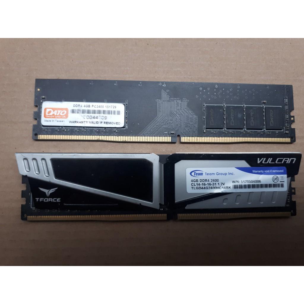 RAM DDR4 4GB bus 2400 - ram máy bàn