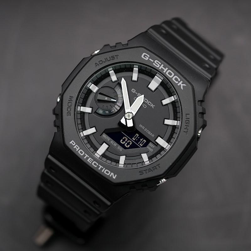 Đồng hồ nam Casio G-Shock GA-2100-1ADR chính hãng | GA-2100-1A Carbon Core