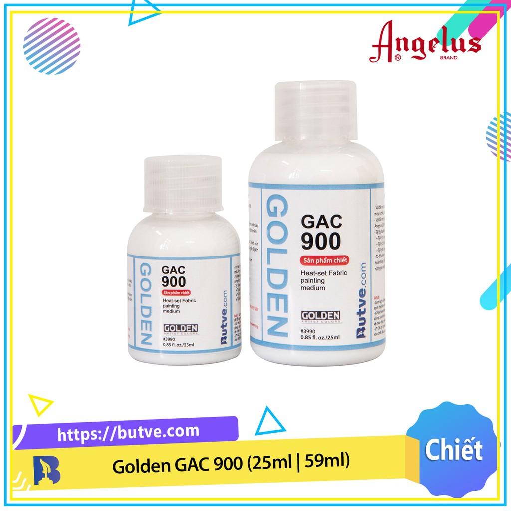 Golden GAC 900 Dung môi pha màu acrylic vẽ lên vải (25ml | 59ml)