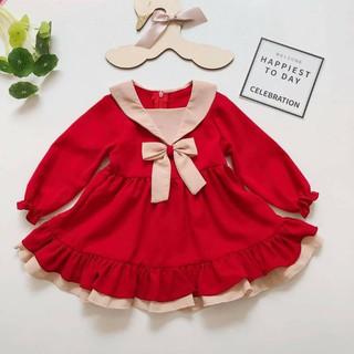 Váy bé gái ⚡ Size 5-32kg ⚡ Váy thu đông cho bé gái ⚡ Hàng thiết kế xịn xò (Có video cận chất và ảnh khách mặc)