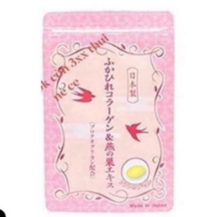 Viên uống Collagen yến tươi Nhật Bản gói 30 viên0