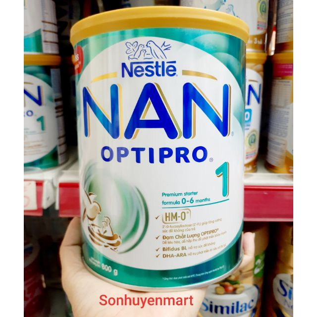 Sữa Nan HMO optipro 1 800g
