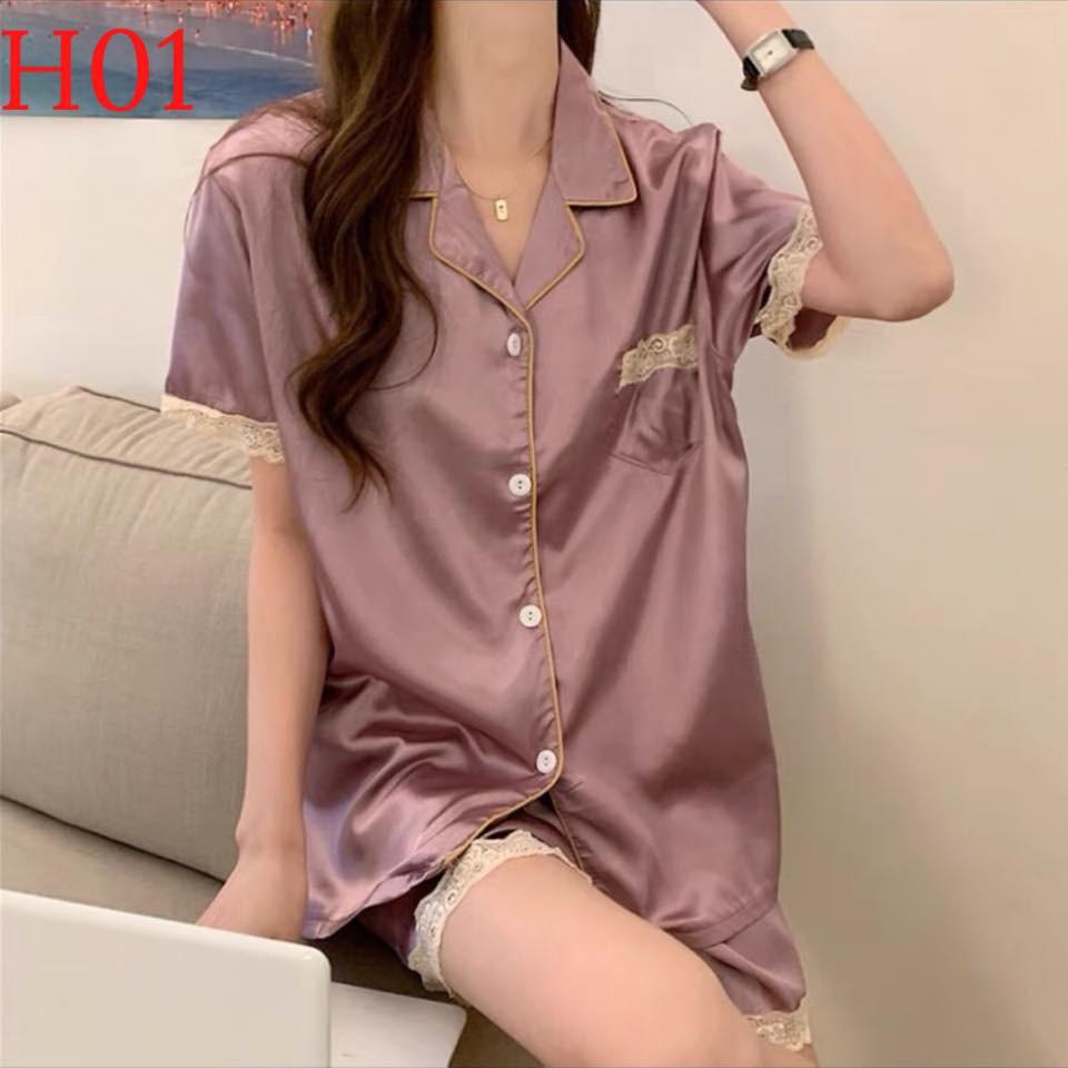 Mặc gì đẹp: Mát mẻ với [FREE SHIP] Bộ đồ Pijama lụa [HÀNG SIÊU ĐẸP]