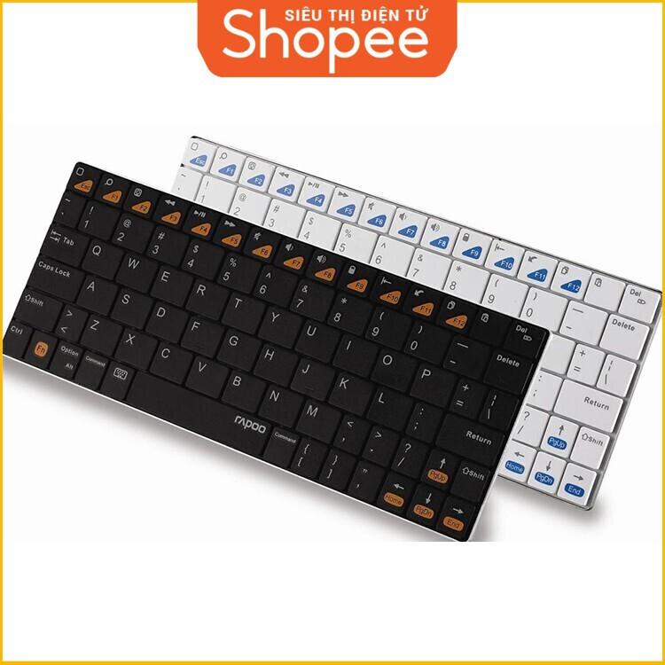 [Siêu Khuyến Mãi] Bàn phím máy tính Wireless Rapoo model E6300