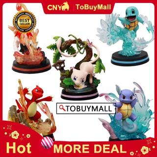 Mô hình đồ chơi nhân vật Pokemon bằng nhựa PVC cao cấp thumbnail