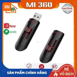 [Chính Hãng - BH 5 Năm] USB 3.0 SanDisk CZ600 16GB/ 32Gb/ 64Gb/128Gb Cruzer Glide tốc độ cao upto 100MB/s