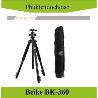 [Mã 159ELSALE hoàn 7% đơn 300K] Chân máy ảnh BEIKE BK-360 (China) . Tặng Da cừu - Da thật thumbnail