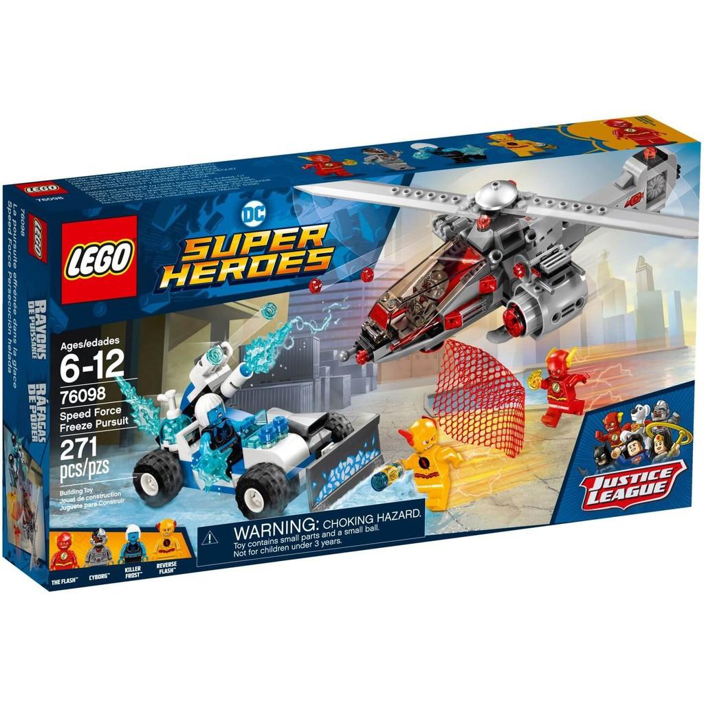 LEGO DC Comics Super Heroes 76098 – The Flash Đại Chiến Người Băng