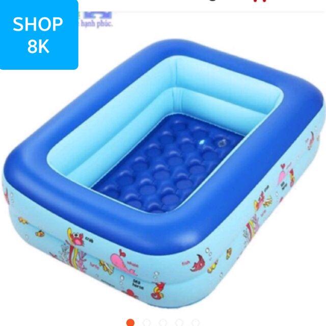 Bể bơi 2 tầng 1.5m hình chữ nhật (tặng kèm bộ đồ chơi mẹ con vịt thả bể) - 9922799 , 1178243720 , 322_1178243720 , 300000 , Be-boi-2-tang-1.5m-hinh-chu-nhat-tang-kem-bo-do-choi-me-con-vit-tha-be-322_1178243720 , shopee.vn , Bể bơi 2 tầng 1.5m hình chữ nhật (tặng kèm bộ đồ chơi mẹ con vịt thả bể)