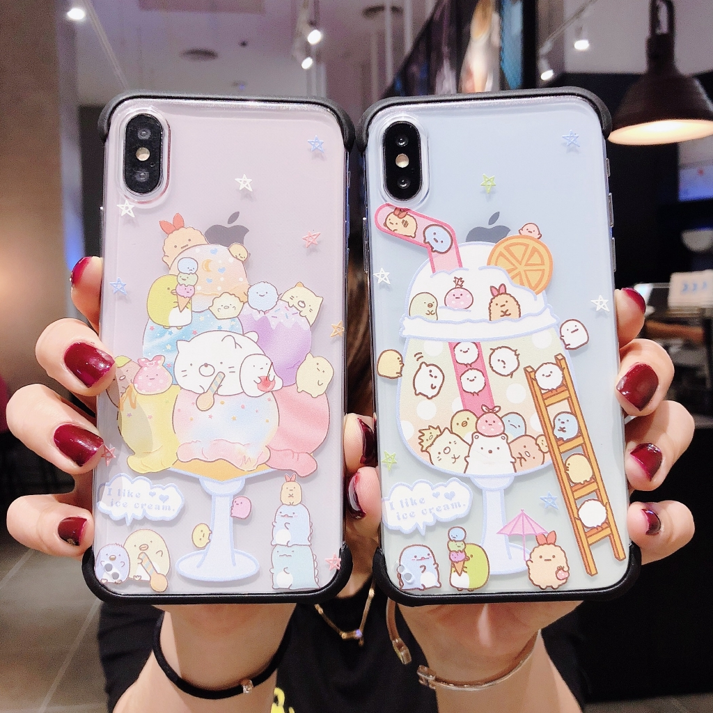 Cartoon IPhone 7Plus 8Plus Protective case 7/8 X/XS Back cover XR XS MAX Phone case