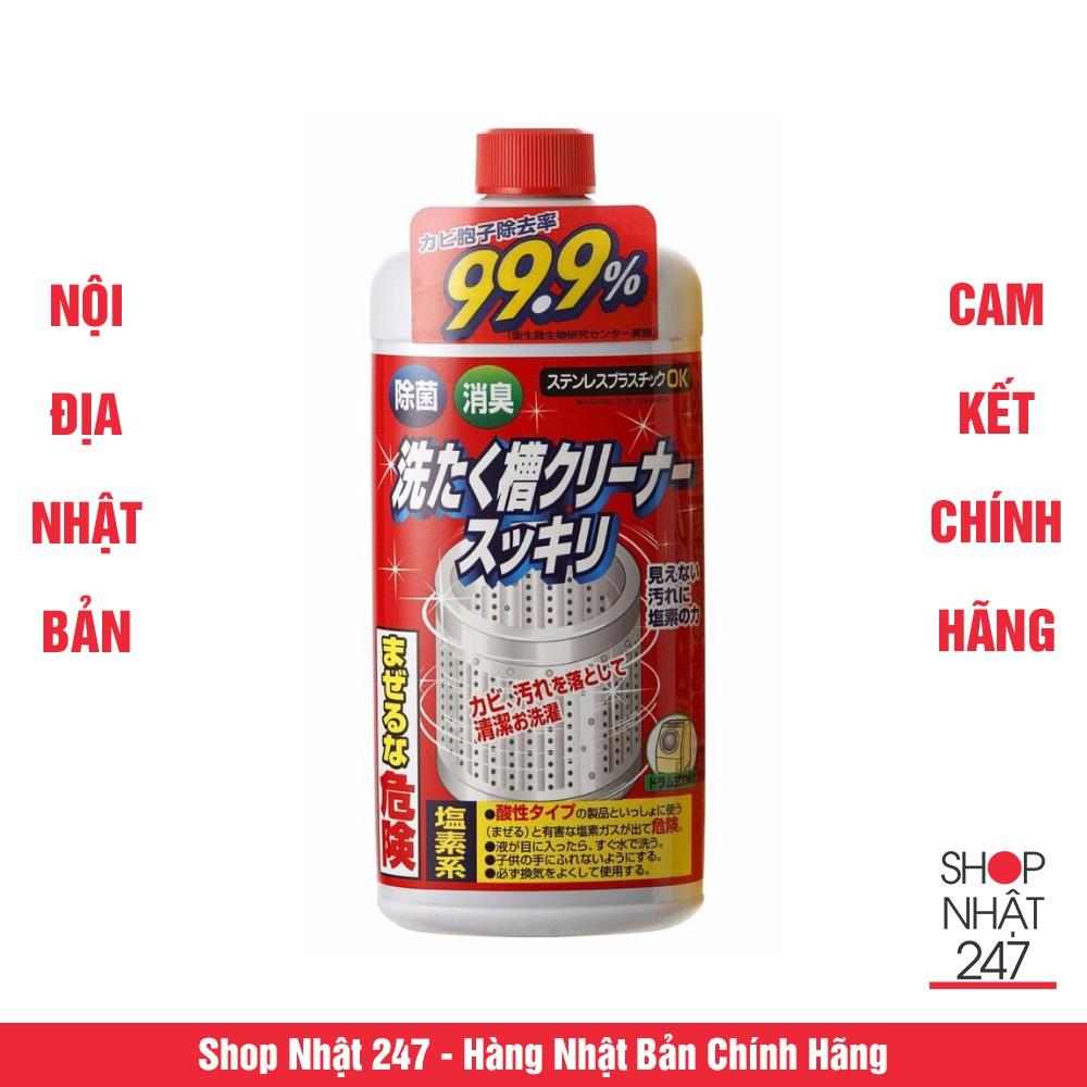 Nước Tẩy Lồng Máy Giặt Nhật Rocket 99.9% Nội địa Nhật