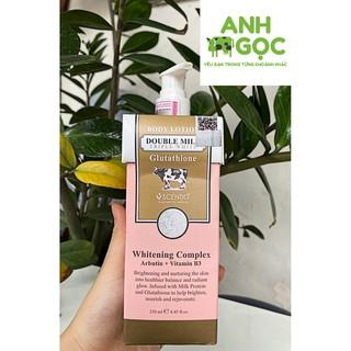 [ AUTH GIÁ CỰC TỐT ] Kem dưỡng thể Thái Lan Double Milk Triple White Body Lotion 250ml/Kem dưỡng thể trắng da chính hãng