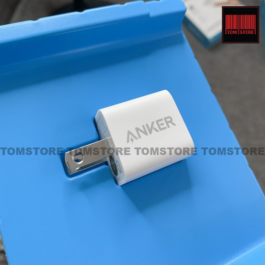 Cốc sạc nhanh 20W Anker Powerport III Nano A2633 hỗ trợ chuẩn sạc PowerIQ 3.0