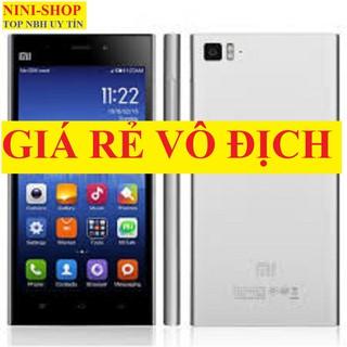 [Mã ELMS4 giảm 7% đơn 500K] điện thoại Xiaomi Mi 3 có Tiếng Việt máy mới Chính Hãng, chơi game mượt thumbnail