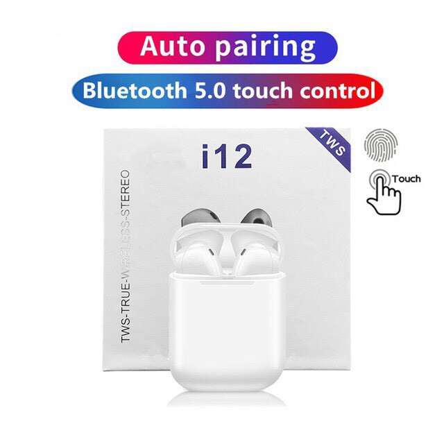 Tai Nghe Bluetooth INPODS i12 TWS Cảm Biến Vân Tay(có video + ảnh )