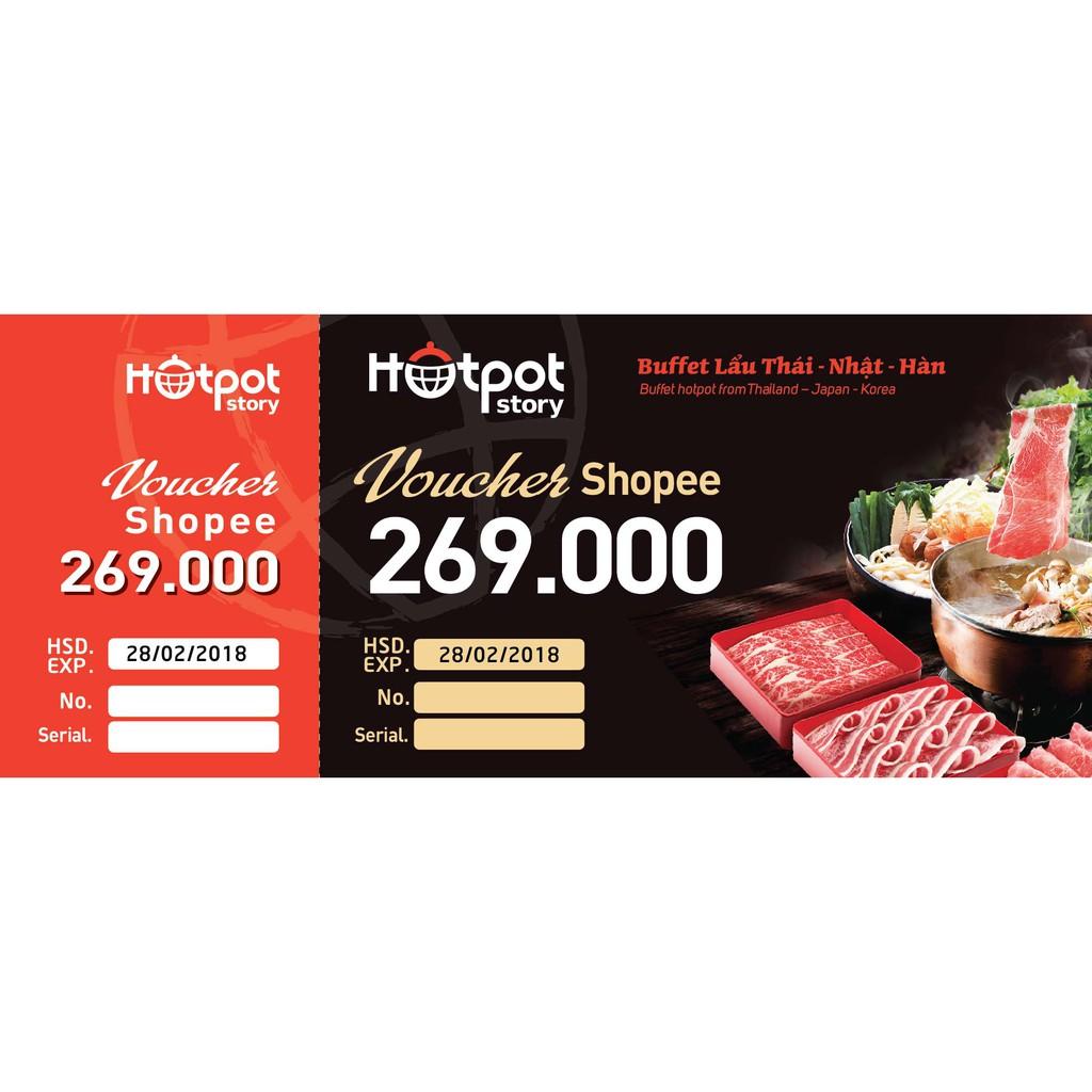[HN- Voucher] Combo 2 suất buffet lẩu Thái – Nhật – Hàn tại Hotpot Story - 3398599 , 839632185 , 322_839632185 , 538000 , HN-Voucher-Combo-2-suat-buffet-lau-Thai-Nhat-Han-tai-Hotpot-Story-322_839632185 , shopee.vn , [HN- Voucher] Combo 2 suất buffet lẩu Thái – Nhật – Hàn tại Hotpot Story