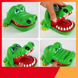 [GIÁ SỐC] Đồ chơi khám răng cá sấu vui nhộn   HÀNG MỚI