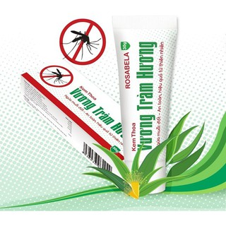 Kem đuổi muỗi Vương Tràm Hương mùi hương tự nhiên an toàn từ thảo dược