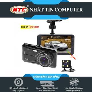 Yêu ThíchCamera hành trình ô tô trước sau Dual Lens model A12 hỗ trợ FullHD - tích hợp màn hình cảm ứng (đen)