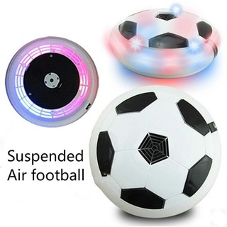 1 Pcs Flashing Ball Colorful LED Light Electric Suspended Game Air Cushion Football Sports Toy Indoor Football Gift Toys