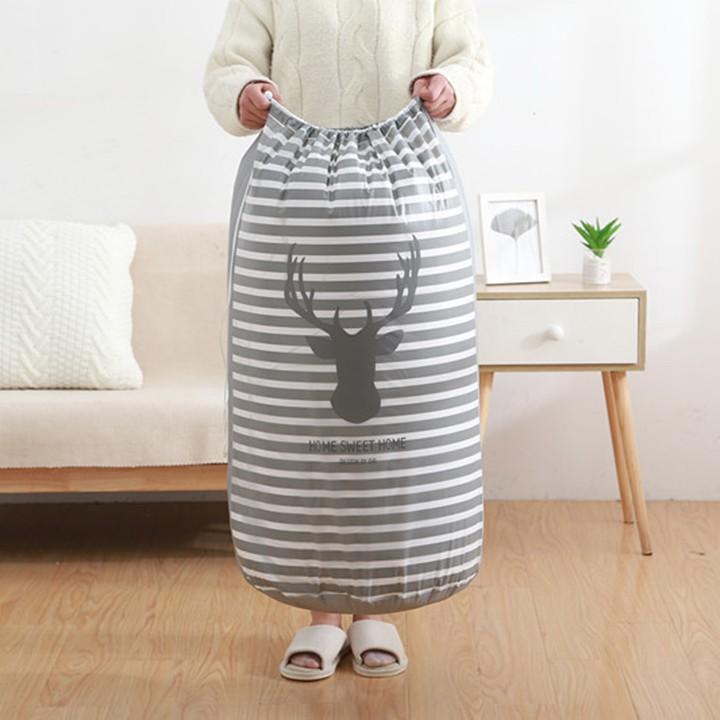 Túi đựng chăn màn quần áo đa năng chống ẩm xuất nhật cỡ lớn 2466