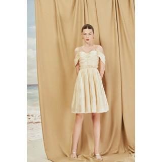MAVEN - Váy xoè Ponita Beige Dress thumbnail