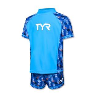 [Mã KIDMALL15 hoàn 15% xu đơn 150K] Đồ bơi chống nắng trẻ em TYR Larelle Girl Suit
