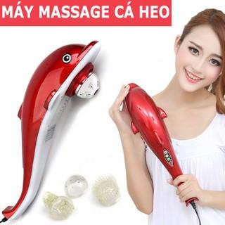Máy massage cầm tay hình cá heo (Loại to)