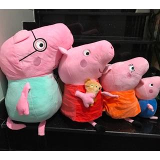 HEO PEPPA PIG 50cm Bán Lẻ Giá Sỉ Cực Sốc,Lông Nhung Mịn,Gòn Trắng